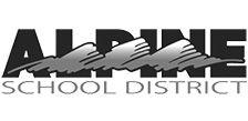 Alpine logo bw